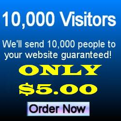 Earn money for each visitor